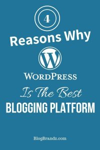 4 Reasons Why WordPress Is The Best Blogging Platform