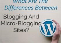 Blogging And Micro-Blogging