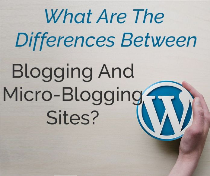 Blogging And Micro-Blogging