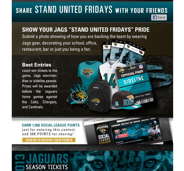 Jaguars Rewards