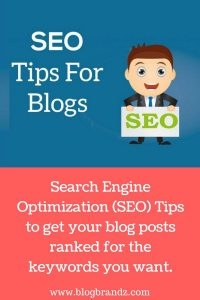 Search Engine Optimization (SEO) Tips For Blogs