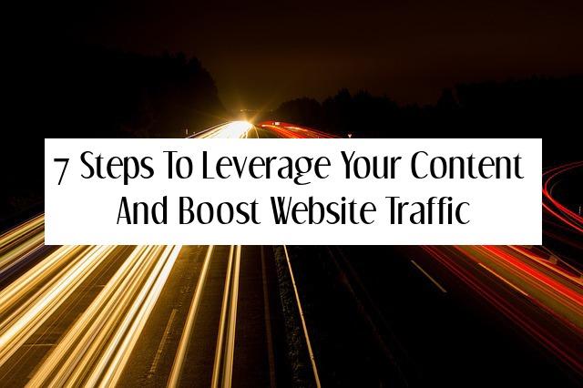 leverage content boost traffic
