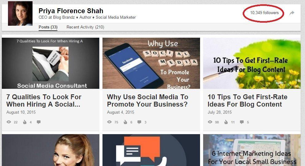 LinkedIn Publishing Dashboard