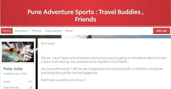 Pune Adventure Sports meetup