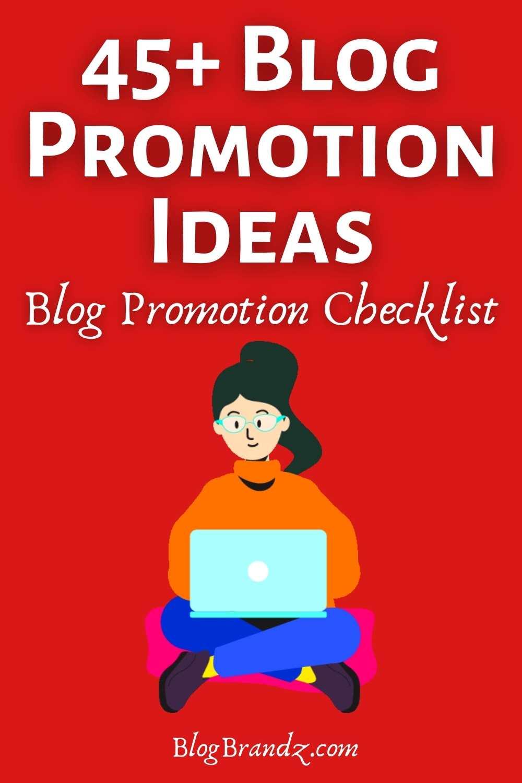 blog promotion ideas