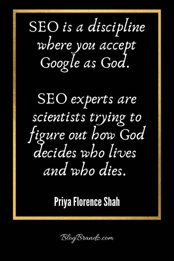 Funny SEO Quotes