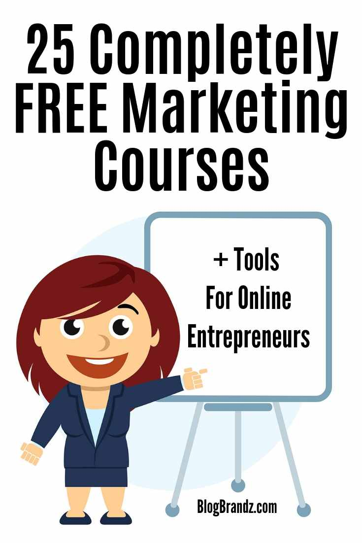 Completely FREE Marketing Courses and Tools For Online Entrepreneurs