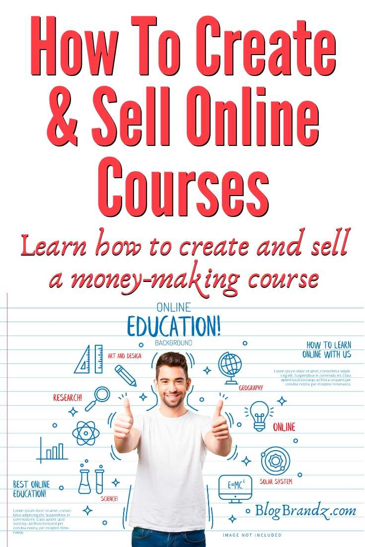How To Create And Sell Online Courses=