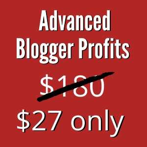 Advanced Blogger Profits
