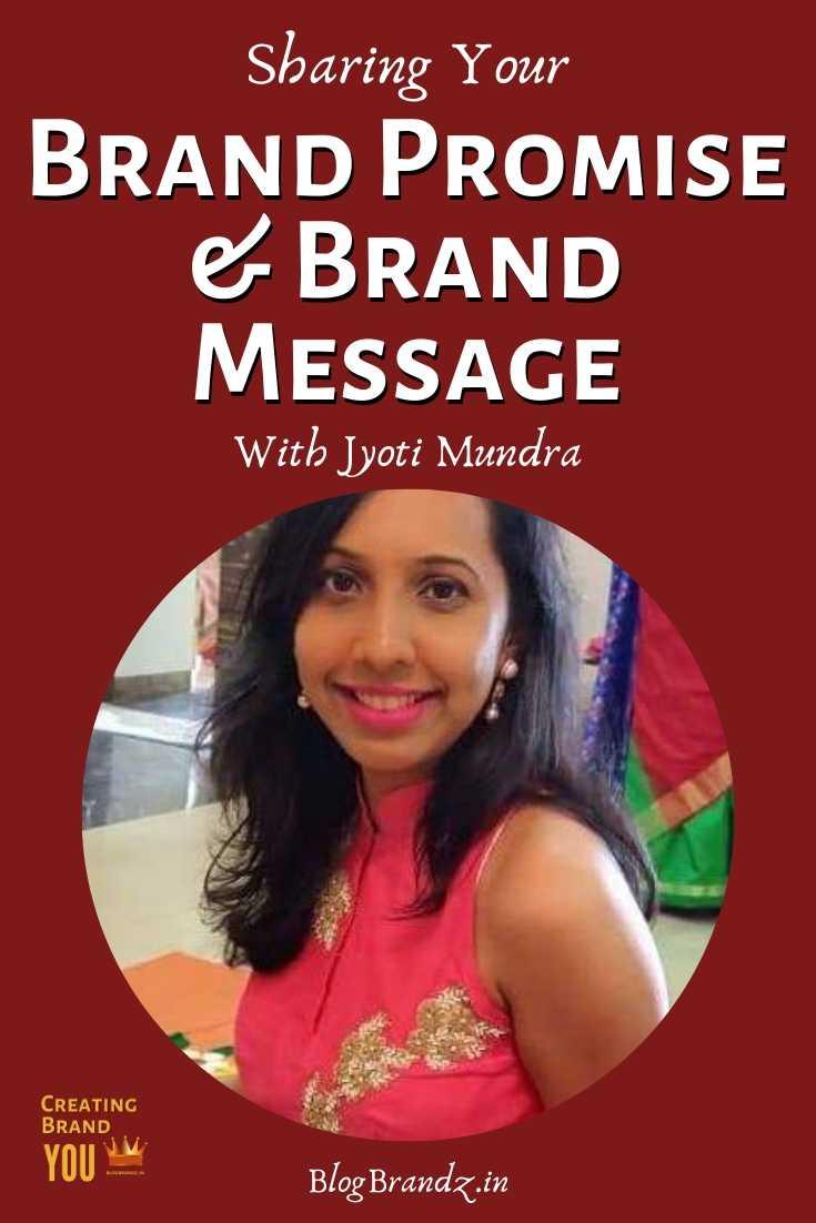 Brand Promise Brand Message