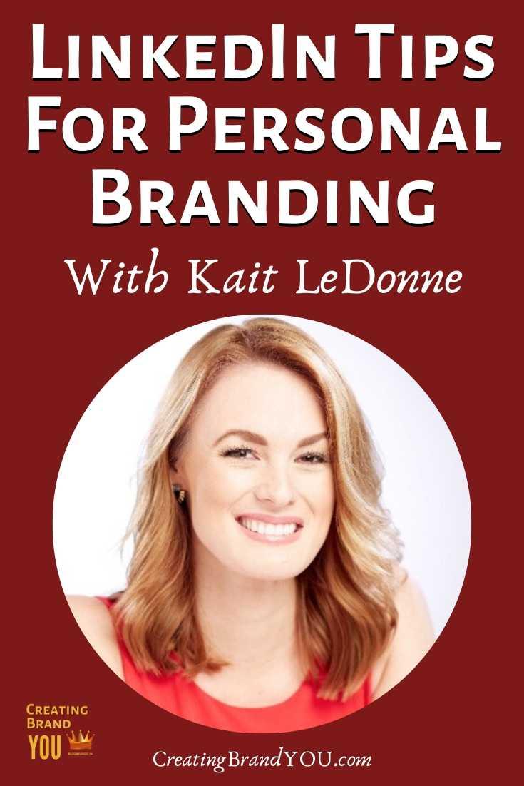 LinkedIn Tips Personal Branding