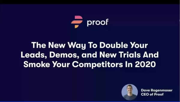 Proof webinar replay