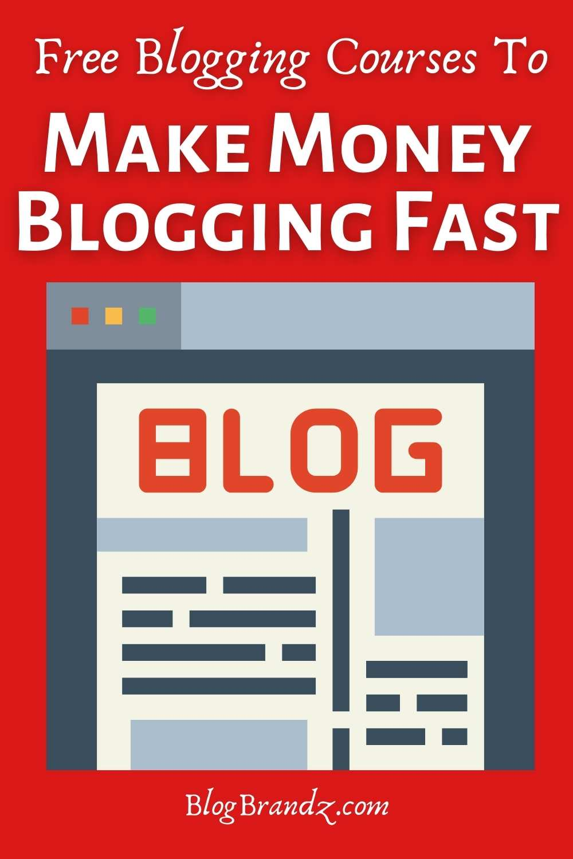 make money blogging fast