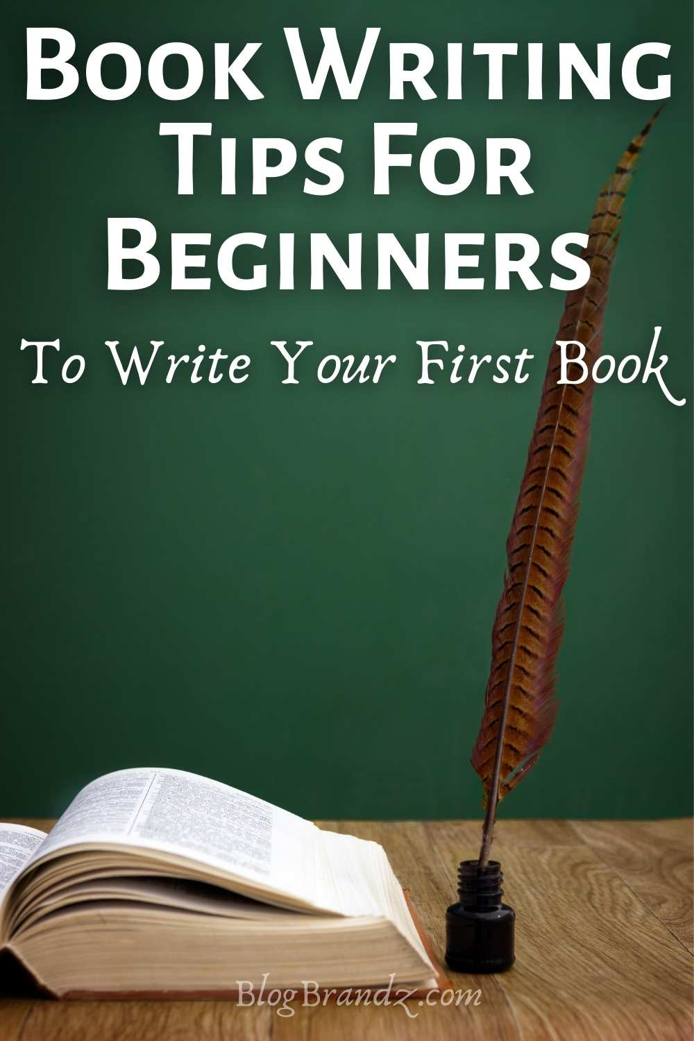 Book Writing Tips For Beginners