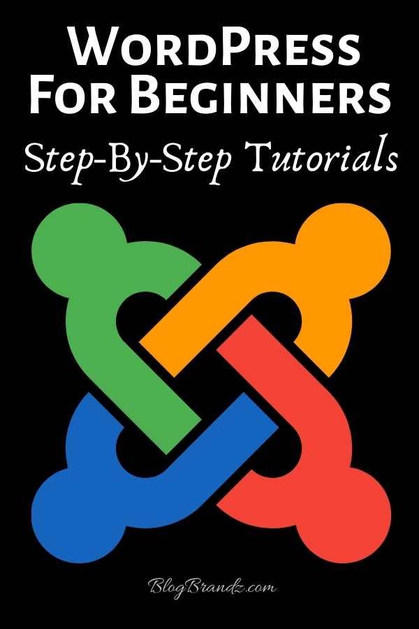 WordPress For Beginners Step-By-Step Tutorials