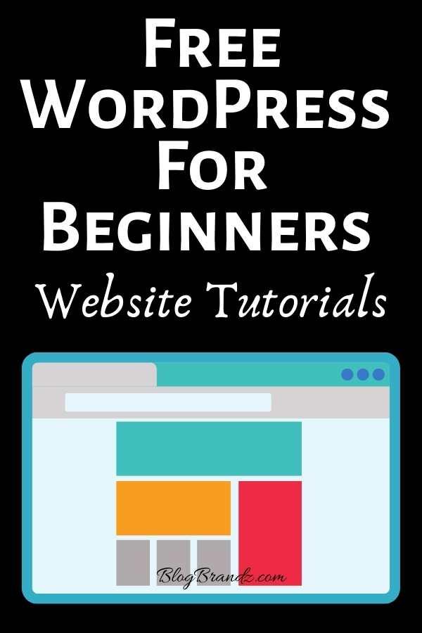 WordPress For Beginners Website Tutorials