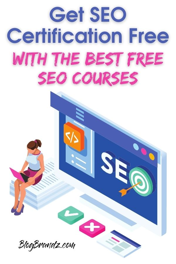 SEO Certification Free