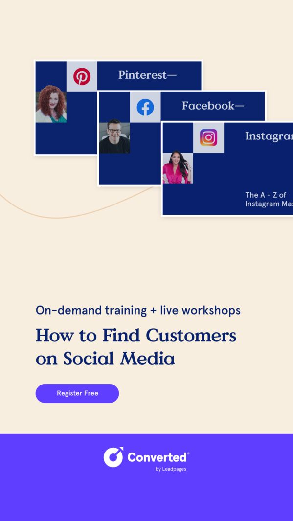 Free Social Media Marketing 2021 Training