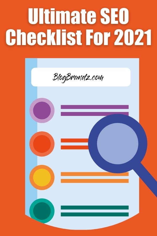 Ultimate SEO Checklist 2021