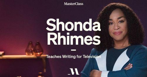 Shonda Rhimes Screenwriting Masterclass