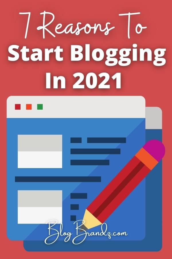 Start Blogging 2021